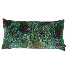 Boeme Paon Teal Cushion