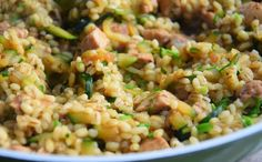 Fried Rice, Risotto, Fries, Vegetarian Recipes, Food And Drink, Ethnic Recipes, Fitness, Nasi Goreng, Stir Fry Rice