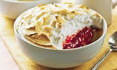 Meringue is the backbone of so many traditional British desserts, especially summer puddings. They are so quick, easy and cheap to make, plus they keep well in an airtight box so always make plenty. Queen Of Puddings, British Pudding, British Desserts, Turnip Greens, Tom Parker, Protein Rich Foods, Eat Fruit, Desert Recipes, Mail Online