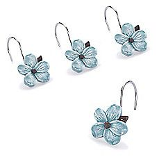 Image Of Hanami Resin Shower Curtain Hooks