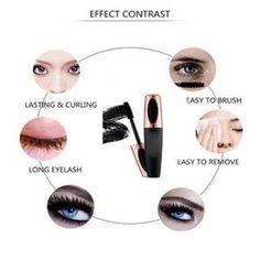 Silk Fiber Eyelash Mascara – Pretty Little Sale Fiber Lash Mascara, Mascara Wands, Fiber Lashes, Makeup Tips, Beauty Makeup, Eye Makeup, Falsies, Longer Eyelashes, Nail