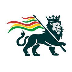 Rasta Lion, Rasta Art, Rasta Pictures, Black Art Pictures, Embroidery Designs, Surf Stickers, Jah Rastafari, Lion Illustration, Guitar Art
