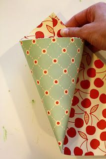 How to make a paper tussie mussie for gift giving via My little piece of that Azure sky