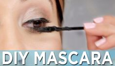 [VIDEO] How To Make Your Own Mascara w/coconut oil, activated charcoal or cocoa powder, aloe, CANDELILLA wax--to keep it cruelty-free & vegan *Use the amount of Candelilla wax--since it has a harder consistancy. Homemade Wax For Eyebrows, Homemade Mascara, Charcoal Uses, Eyeliner, Eyeshadow, Make Your Own, Make It Yourself, Makeup Eraser, Best Mascara