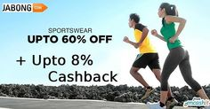 Get upto 60% off on men & women sports wear like tracks shoes shirts and more at  @jabongindia  get upto 8% extra cashback from us >> http://ift.tt/21Mhdze  #sportswear #tracks #shoes #footwear #jabong #cashback #cashbackoffers #jabongoffers #jabongcashback #jabongcashbackoffers