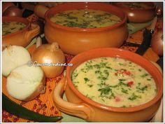 Ciorba radauteana Oriental, Cheeseburger Chowder, I Foods, Soup, Fine Dining, Soups
