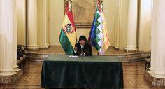 Sindicatos oficialistas de Bolivia abren campaña por reelección indefinida de Evo Morales
