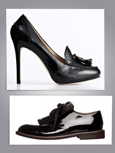 <3    Marni black lace-up shoe