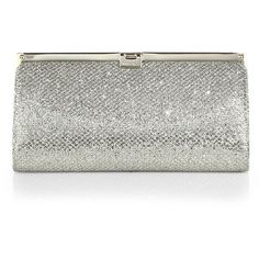 Jimmy Choo Camille Glittered-Fabric Clutch and other apparel, accessories and trends. Browse and shop 8 related looks.