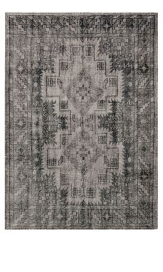 Heal's | Sentimental Handknotted Black And Grey Rug - Rugs - Rugs - Living Room £600