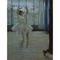 The Dancer at the Studio Edgar Degas (1834-1917French) Oil on canvas Pushkin Museum of Fine Arts Moscow Canvas Art - Edgar Degas (18 x 24)