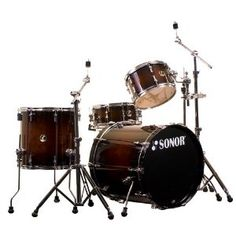Sonor Force 3007 Rock Drum Kit in Smooth Brown Burst