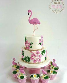 Bolo Flamingo