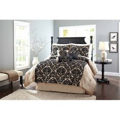 Better Homes and Gardens Alvaro 7-Piece Comforter Set BY WHITNEYMUHLESTEIN