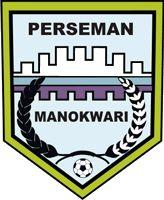 1950, Perseman Manokwari (Manokwari Regency, Indonesia) #PersemanManokwari #ManokwariRegency #Indonesia (L10233) Banda Aceh, Surakarta, Padang, Palembang, Makassar, Semarang, Yogyakarta, Asia, Soccer Logo