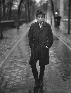 Bob Dylan by Richard Avedon.