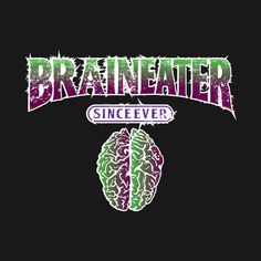 Shop BRAINEATER zombie t-shirts designed by karmadesigner as well as other zombie merchandise at TeePublic. Big Bang Theory Shirts, Zombie T Shirt, Collaboration, Shirt Designs, Neon Signs, Awesome, Check