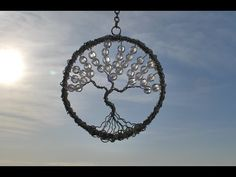 Tree of life sun catcher tutorial