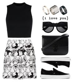"""""""Attitude"""" by felytery ❤ liked on Polyvore featuring Wood Wood, Peter Jensen, Vans, Just Acces, ootd, 2015 and May2015"""