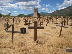 Taos Pueblo cemetery, New Mexico, USA