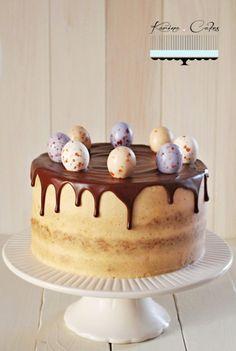 Mrkvová torta bez múky so škoricovým krémom - Carrot Cake Without Flour With Cinnamon Cream
