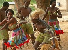African Tribal Dance, Togo.  . #Africa #African #traditional #costume #clothing #dance