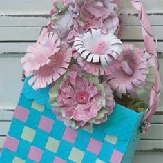 Crafty May Day projects like this basket and flowers are a great way for parents and kids to bond over a fun tradition- May Day Baskets! May Day Baskets, Mother's Day Projects, Spring Months, Happy May, May Days, May Flowers, Art Club, Holiday Ideas, Bond