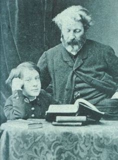 Pierre-Jules Hetzel (1814-1886) the French editor & publisher best known for his lavishly illustrated editions of Jules Verne's novels.