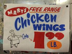 butcher paper signs - Google Search