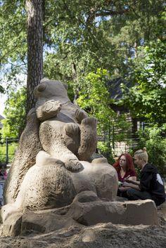 Picture by: Mari Lehmonen (2014) Helsinki Zoo archives  - Katso kuva Flickrissä