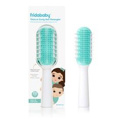 Fridababy   Detangling Brush For Thick Or Curly Hair