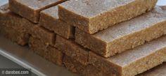 Homemade No-Bake Protein Bars