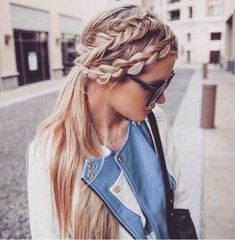 10+ Latest Braided Side Hairstyle in 2018