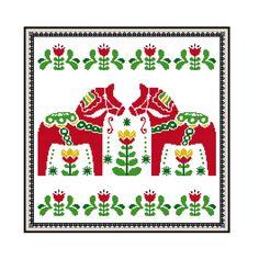 Heart Cross Stitch Folk Art Cross Stitch Pattern by PlatoSquirrel Cross Stitch Heart, Counted Cross Stitch Patterns, Primitive Santa, Creative Embroidery, Embroidery Monogram, Santa And Reindeer, Christmas Cross, Cross Stitching, Folk Art