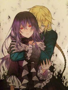 Lacie Baskerville et Jack Vessalius Manga Anime, Anime Couples Manga, Anime Poses, Cute Anime Couples, Anime Art, Manga Girl, Anime Girls, Pandora Hearts Break, Black Butler Characters