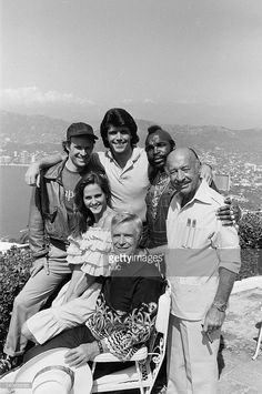 Tim Dunigan as Templeton 'Faceman' Peck, Mr. T as B.A. Baracus, George Peppard as John 'Hannibal' Smith, Melinda Culea as Amy Amanda Allen, Dwight Schultz as 'Howling Mad' Murdock -- Photo by: Frank Carroll/NBCU Photo Bank