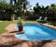 The refreshing swimming pool at Kwelanga Lodge - why be elsewhere these hot summer days?  www.kwelanga.co.za