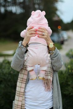 Petite Fashion Blog, Pretty In Her Pearls, Houston style, Post Baby Style, Freshly Picked Moccasins, Babys first keepsake, Mommy and Me style