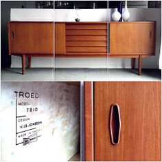 Mid-Century Modern Furniture from Sweden. I'm in love!