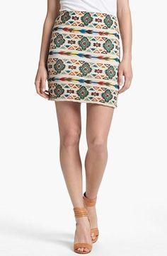 Bold skirt!
