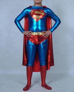 72aad9fb70d5d Stunning Superman Latex costume