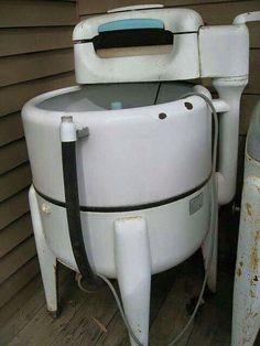 My Mom's  washing machine
