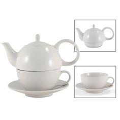 Tea for One White Gloss Finish - English Tea Store Brand