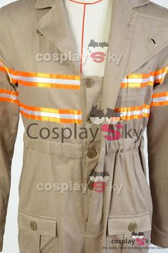 Ghostbusters 3 Ghost Busters Jumpsuit CWU-27p Flight Suit Cosplay Costume_1