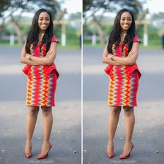 Look Stunning, Slinky & Hot With The Latest Kente Styles – Rendy Trendy African Fashion Designers, Latest African Fashion Dresses, African Print Fashion, Africa Fashion, African Attire, African Wear, African Dress, African Outfits, African Style