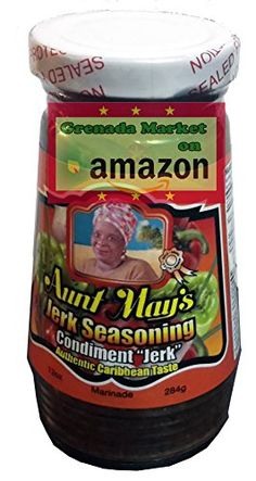 Aunt May's Jerk Seasoning - 12oz,Product of Barbados * Be sure to check out this awesome product.-It is an affiliate link to Amazon.