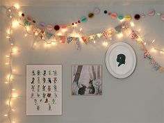Two super cute (and what look to be super easy) garlands