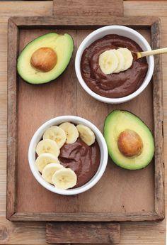 Vegan avocado pudding #healthy #dessert #recipe #raw #vegan #chocolate #cacao #avocado #pudding