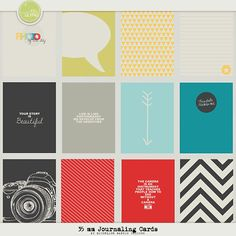 35 mm Journaling Cards by Micheline Martin
