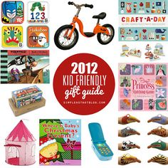 Simple as That 2012 Kid Friendly Gift Guide. #christmas #gifts #forkids